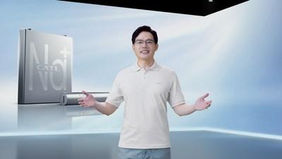 Dr. Robin Zeng, fundador y presidente de CATL (PRNewsfoto/Contemporary Amperex Technology Co., Ltd.)