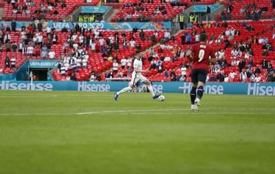 Hisense's Appearance in EURO 2020