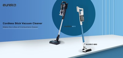 Eureka launches cleaning products leading with cordless stick vacuum cleaners H11 and BR5