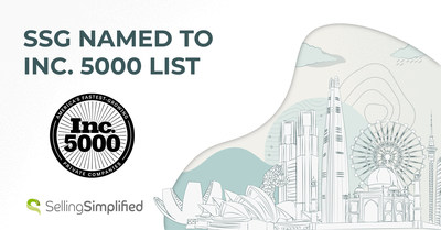 Selling Simplified Group, Inc. (SSG) ranked 4,187 on Inc. 5000 list recognizing America's fastest-growing private companies.